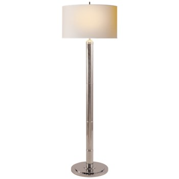 Baudelaire  Floor Lamp with Natural Paper Shade