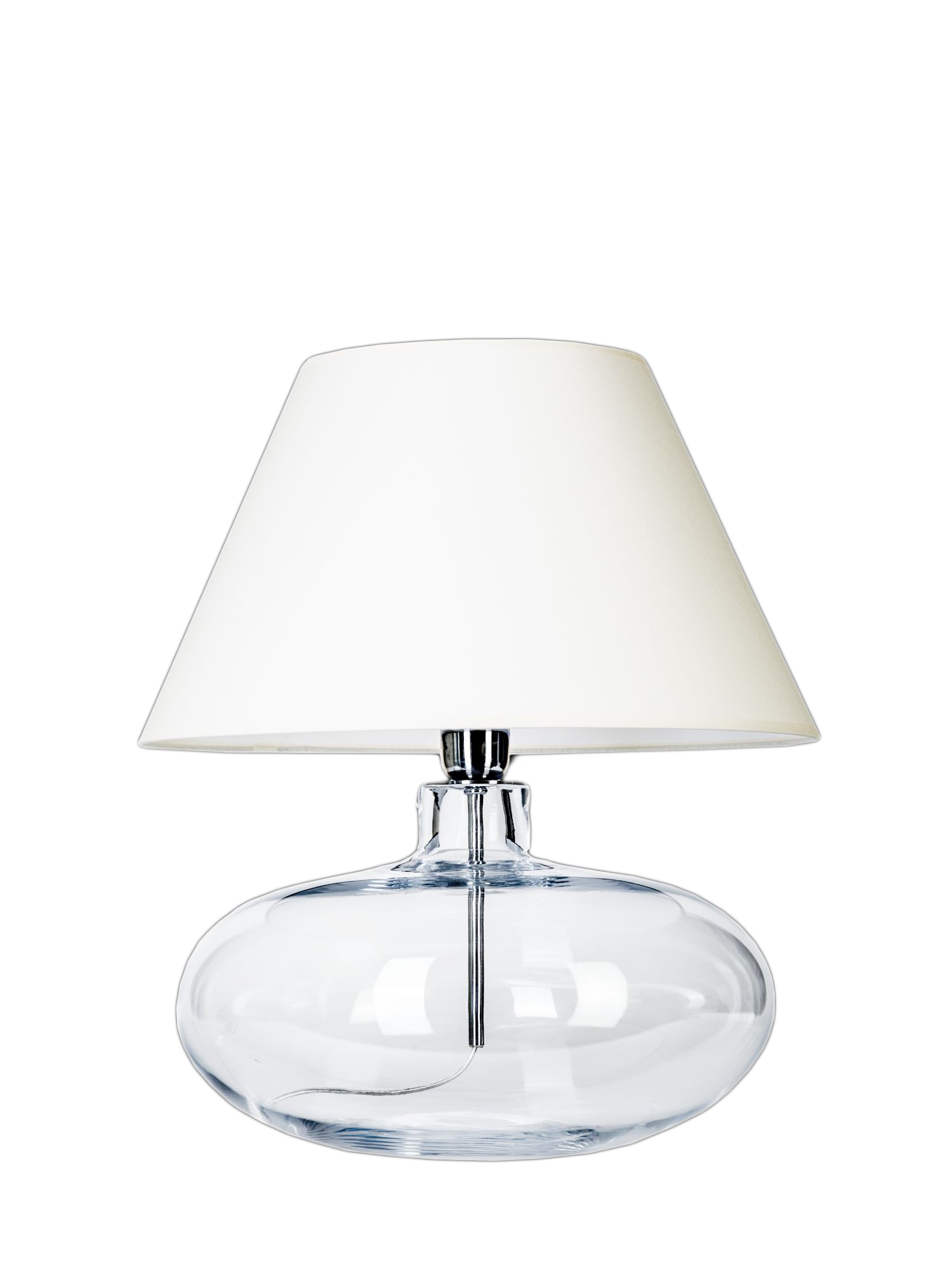 Large glass table lamp arehn large glass table lamp mozeypictures Gallery